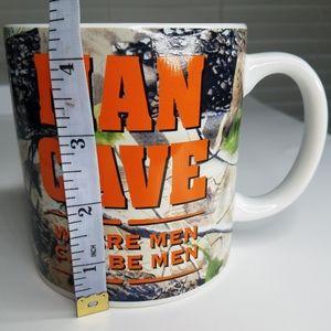 Man cave mug cup coffee tea Bay Island